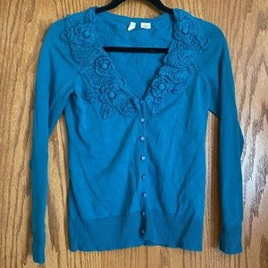 Moth Anthropologie extra small crochet sweater